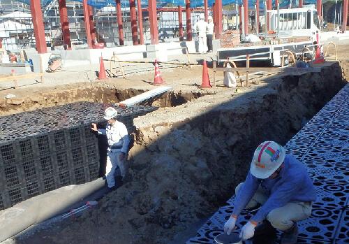 福祉施設/駐車場下・緑地下設置