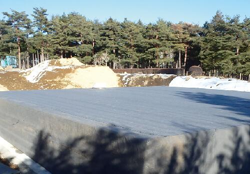 ゴルフ場/芝散水用貯水槽