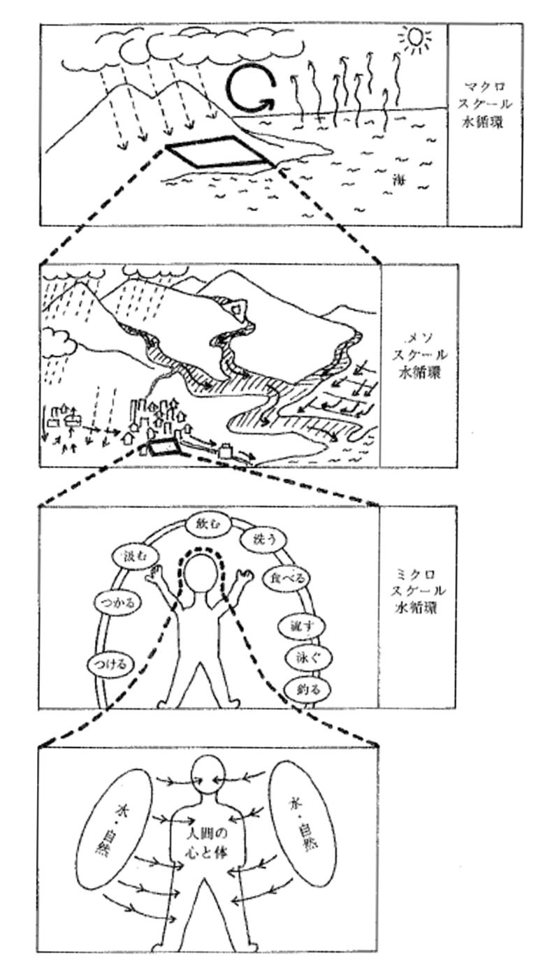 水循環の様々なパターン
